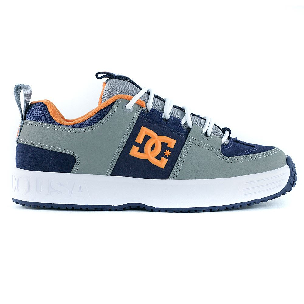 7d8eb9a178 DC Shoes Lynx OG Grey Orange