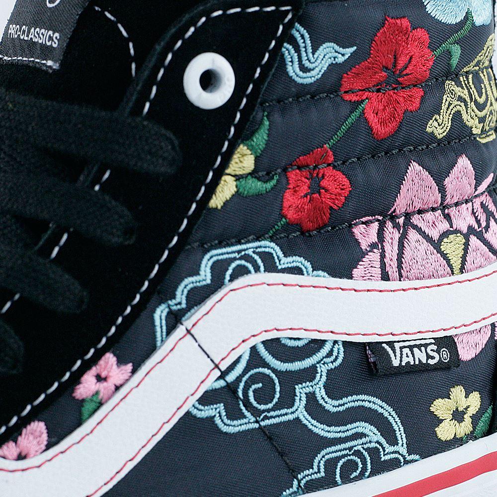 c7191299a0a54f £69.95. Vans Sk8 Hi Pro Lizzie Armanto Floral Black ...