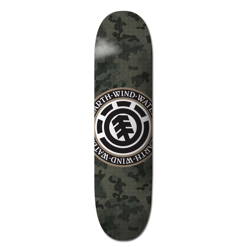45edb6ac Element Skateboards Bark Camo Seal Skateboard Deck 8.0
