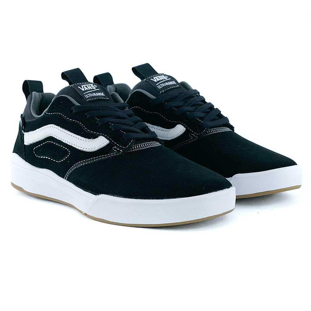 Image is loading Vans UltraRange Pro Black White Skate Shoes Rare