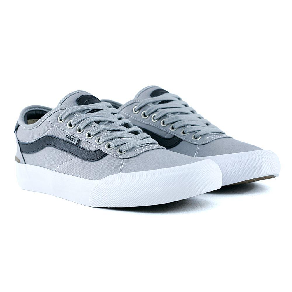 Scarpe Vans Chima Pro 2 Drizzle Black White Sneakers da Skateboards