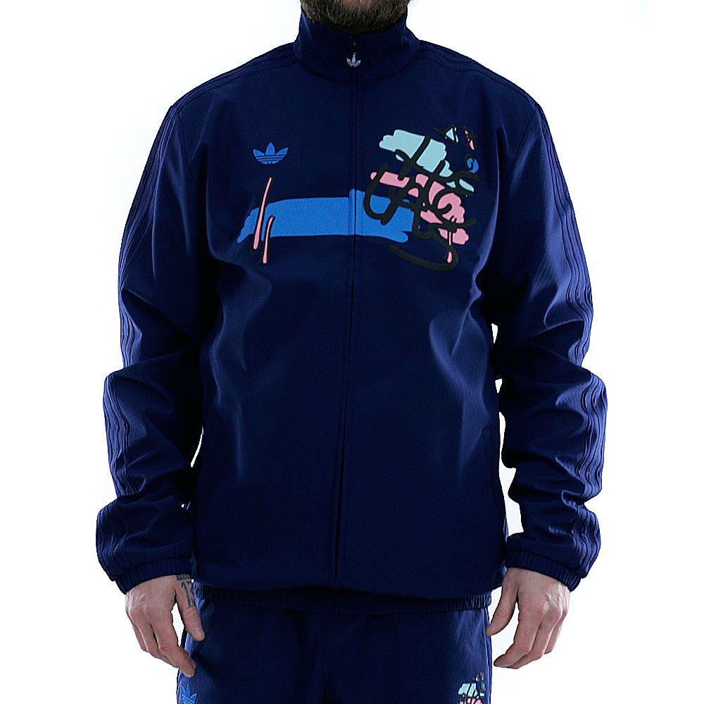 Details about Adidas Skateboarding x Helas Track Jacket Dark Blue