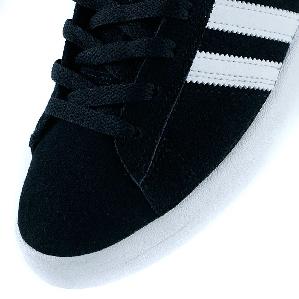 4448ed2f8870e4 Adidas Skateboarding Campus ADV Core Black Feather White