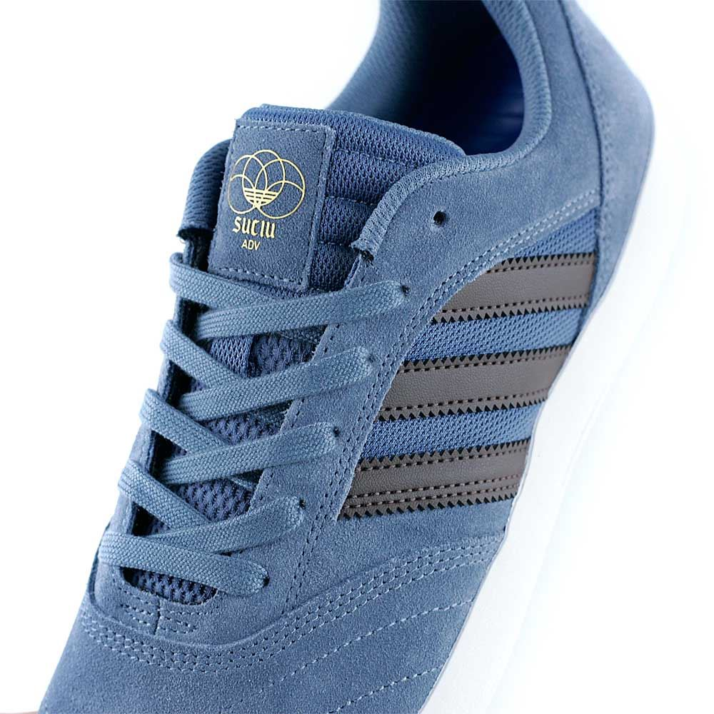 £69.95. Adidas Skateboarding Suciu ADV II Raw Steel Brown Feather White  Skate Shoes ... 6d9843c96