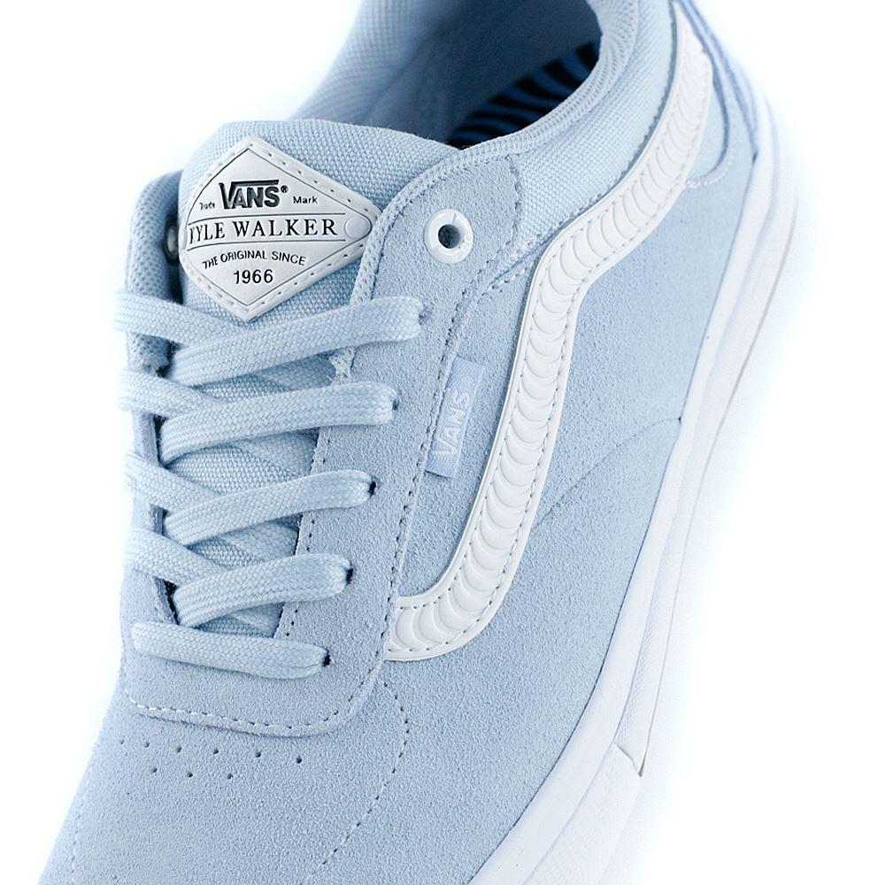 70a0475343 £74.95. Vans x Spitfire Kyle Walker Pro Baby Blue White Skate Shoes ...