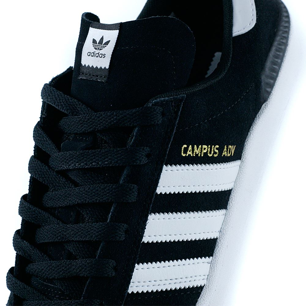 8375bef87371a8 £74.95. Adidas Skateboarding Campus ADV Core Black Feather White ...