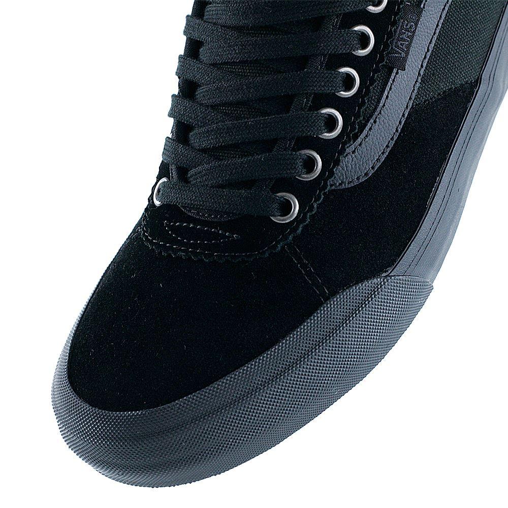 c79e1160db4 Vans Chima Pro 2 Suede Blackout Skate Shoes