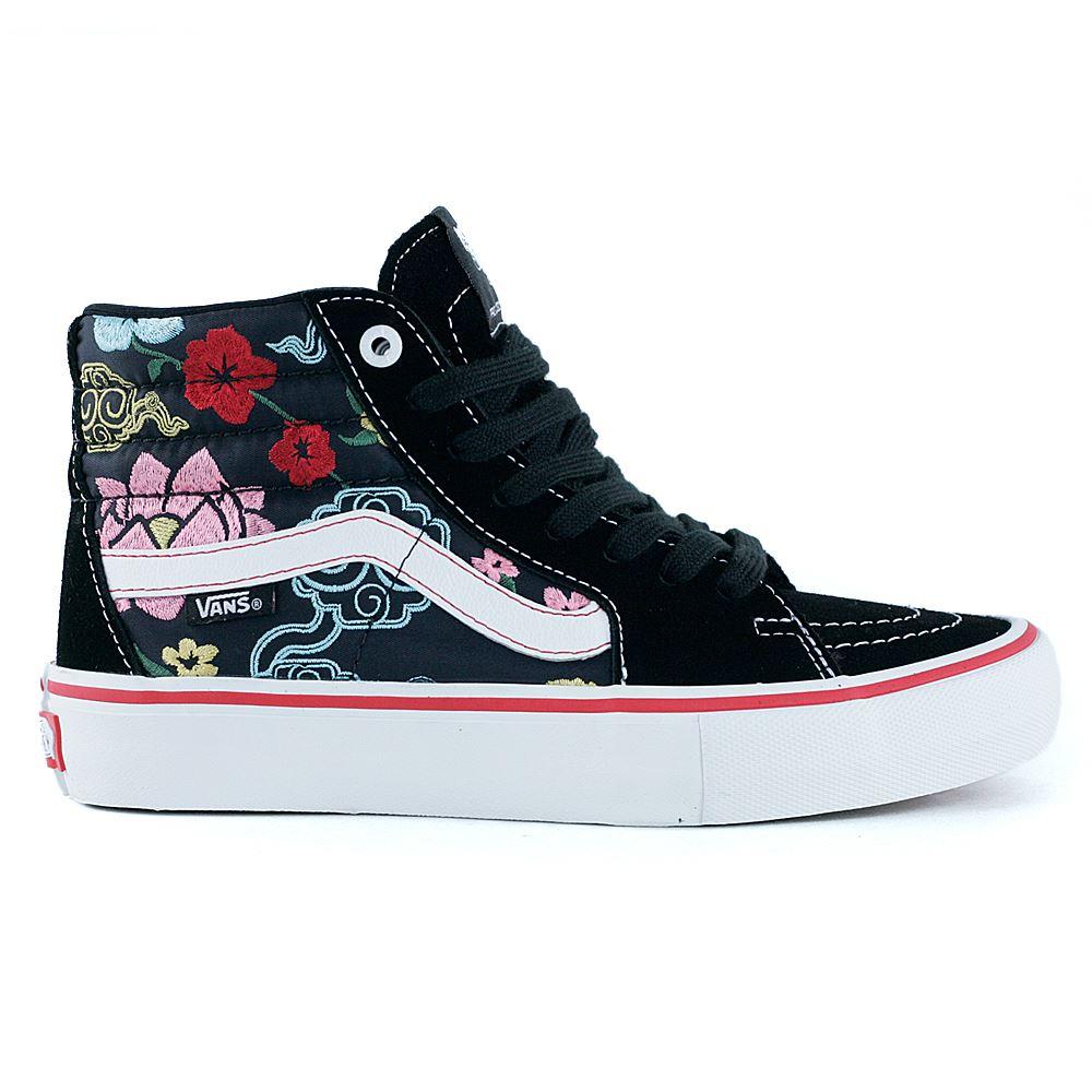 c62e3b10467dc7 Vans Pro Skate Sk8 Hi Pro Lizzie Armanto Floral Black