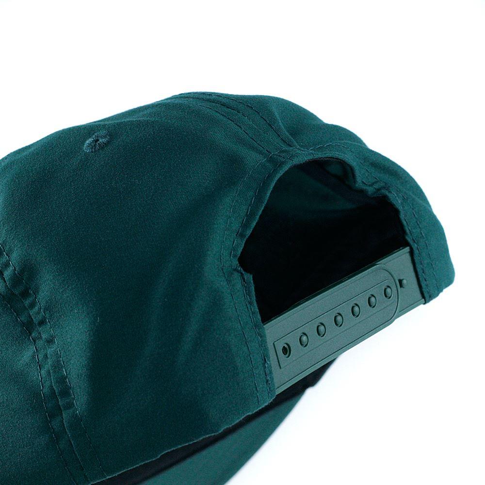 1ac6e55ef8c Details about Thrasher Magazine Davis Snapback Hat Forest Green
