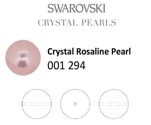 Genuine SWAROVSKI 5810 Round Crystal Pearls * Many Sizes & Colors