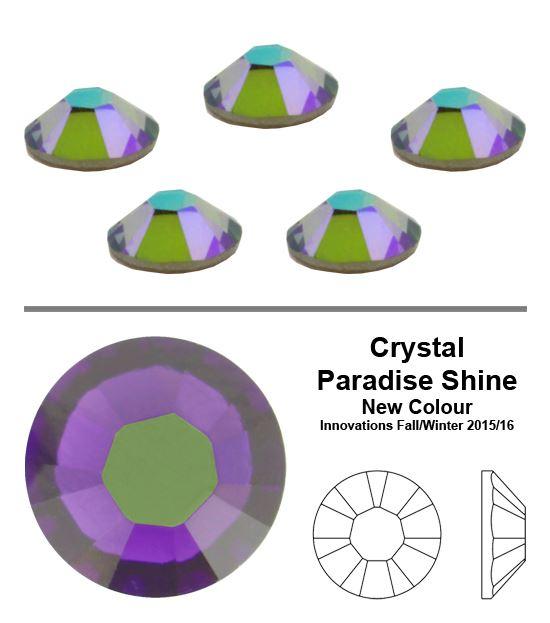 Genuine-SWAROVSKI-2038-XILION-Rose-Hotfix-Flat-Back-Crystals-All-Sizes-amp-Colors