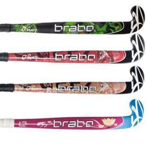Details about 20 x Assorted Brabo O'Geez Junior Sticks #Junior