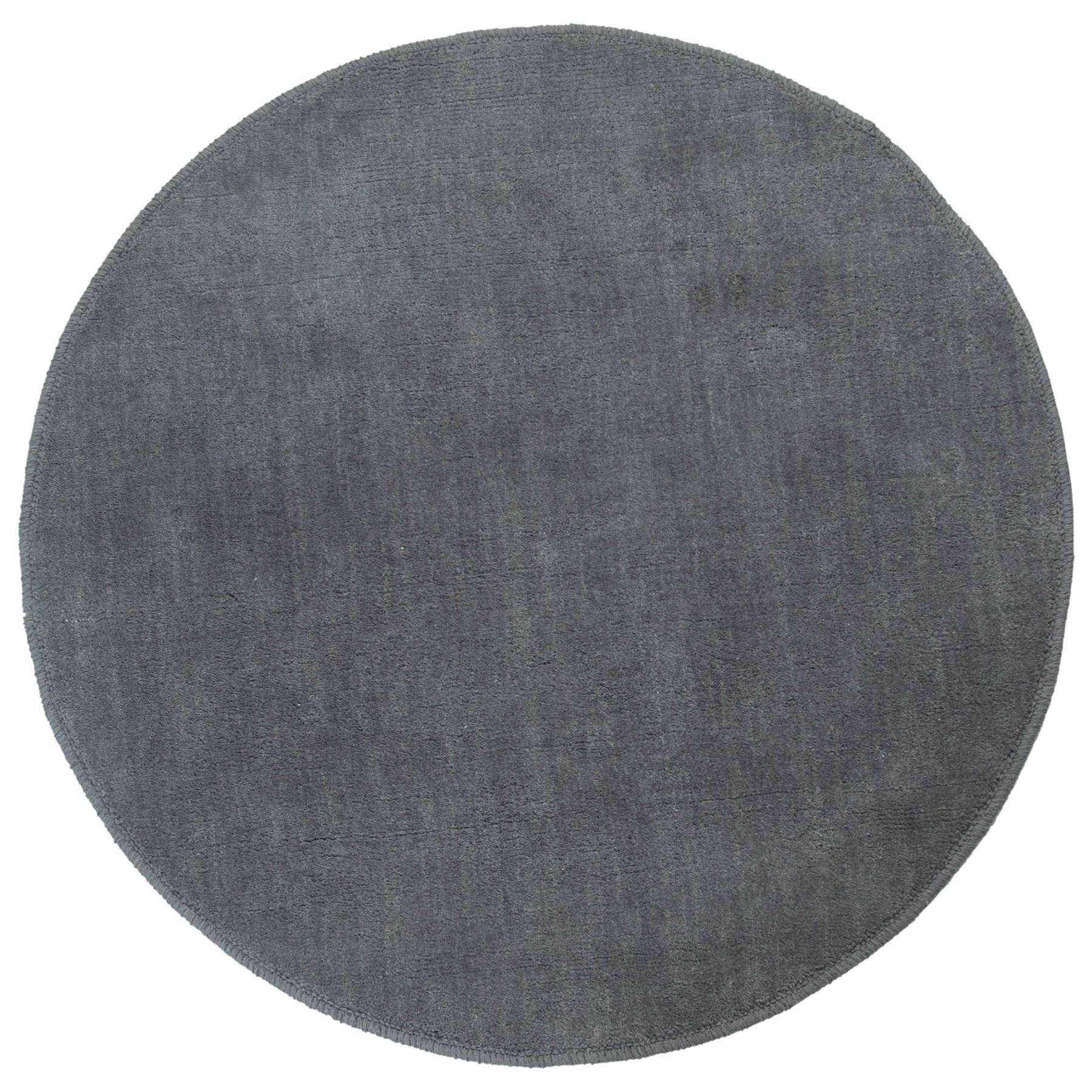 Cotton Tufted Plain Large Amp Circular Rugs Cream Red
