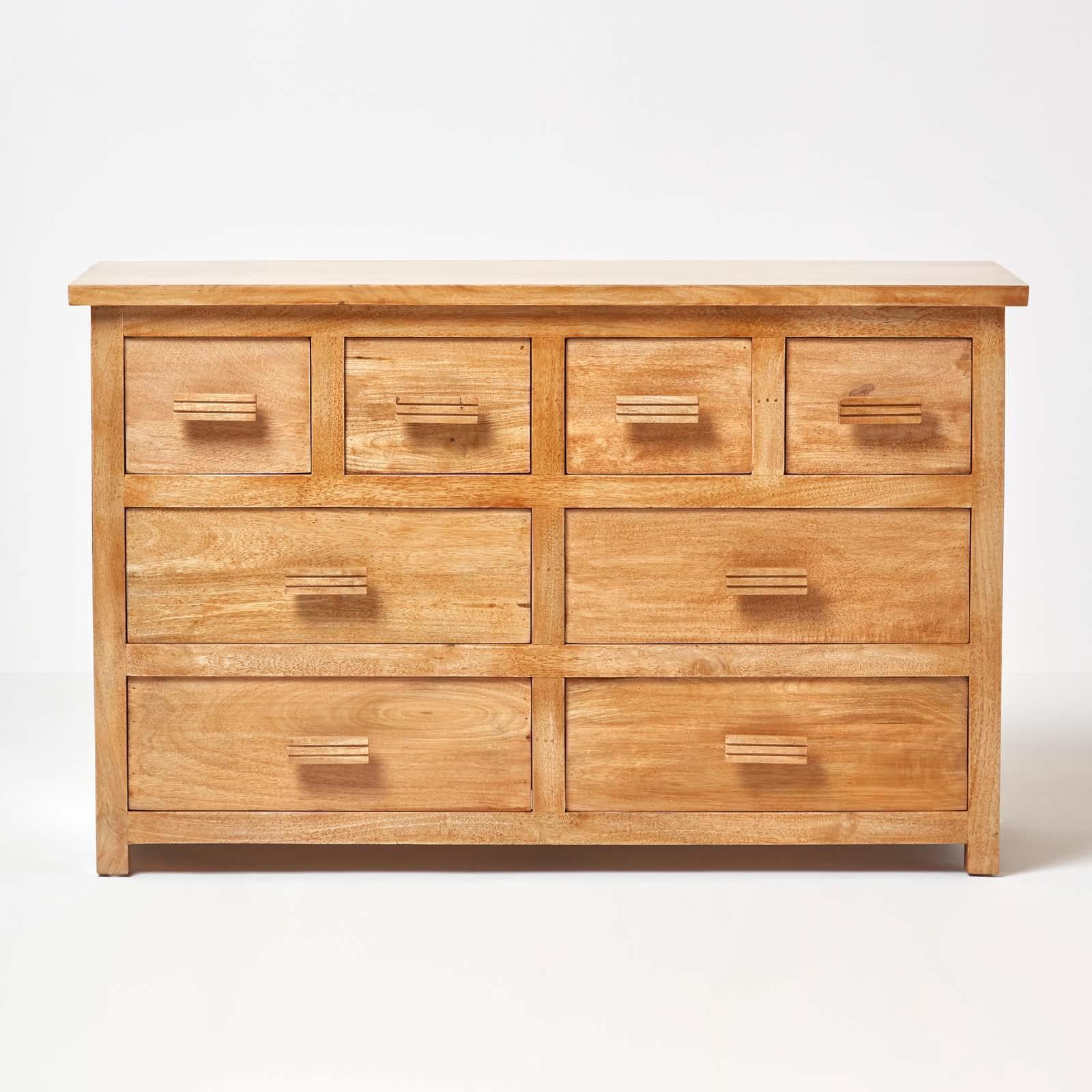 san francisco de94f 9e766 Details about Mangat Wooden Chest of Drawers in Dark wood/Oak Shade, Mango  wood Furniture