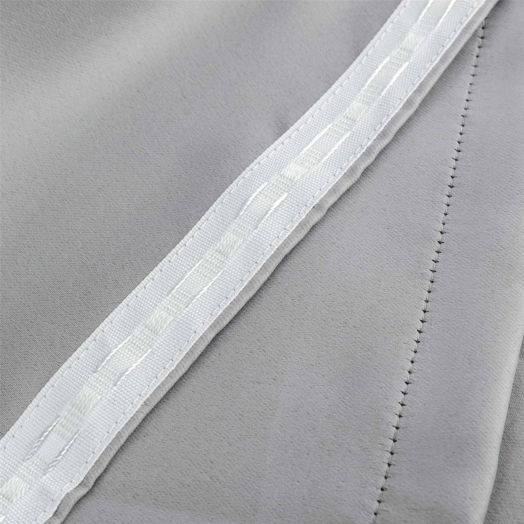 Blackout Thermal Curtain Lining Fabric Pair 3 Pass
