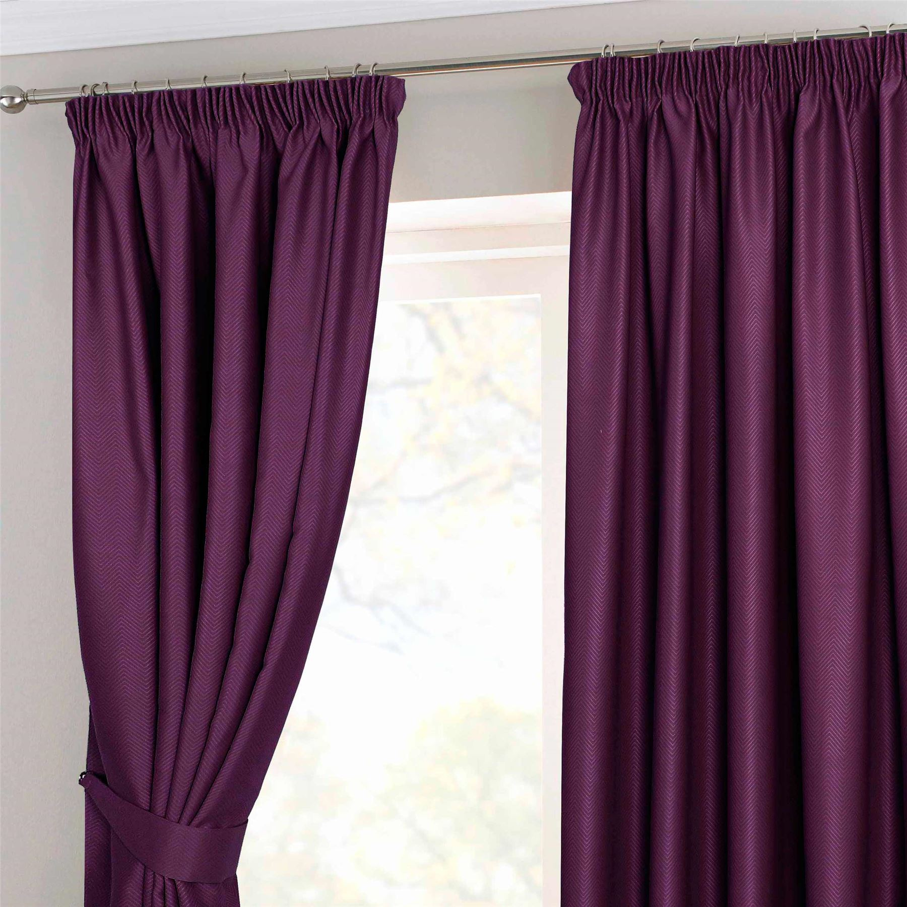 with uk for floral ready merge light cheap curtains made curtain in bedroom printing p purple