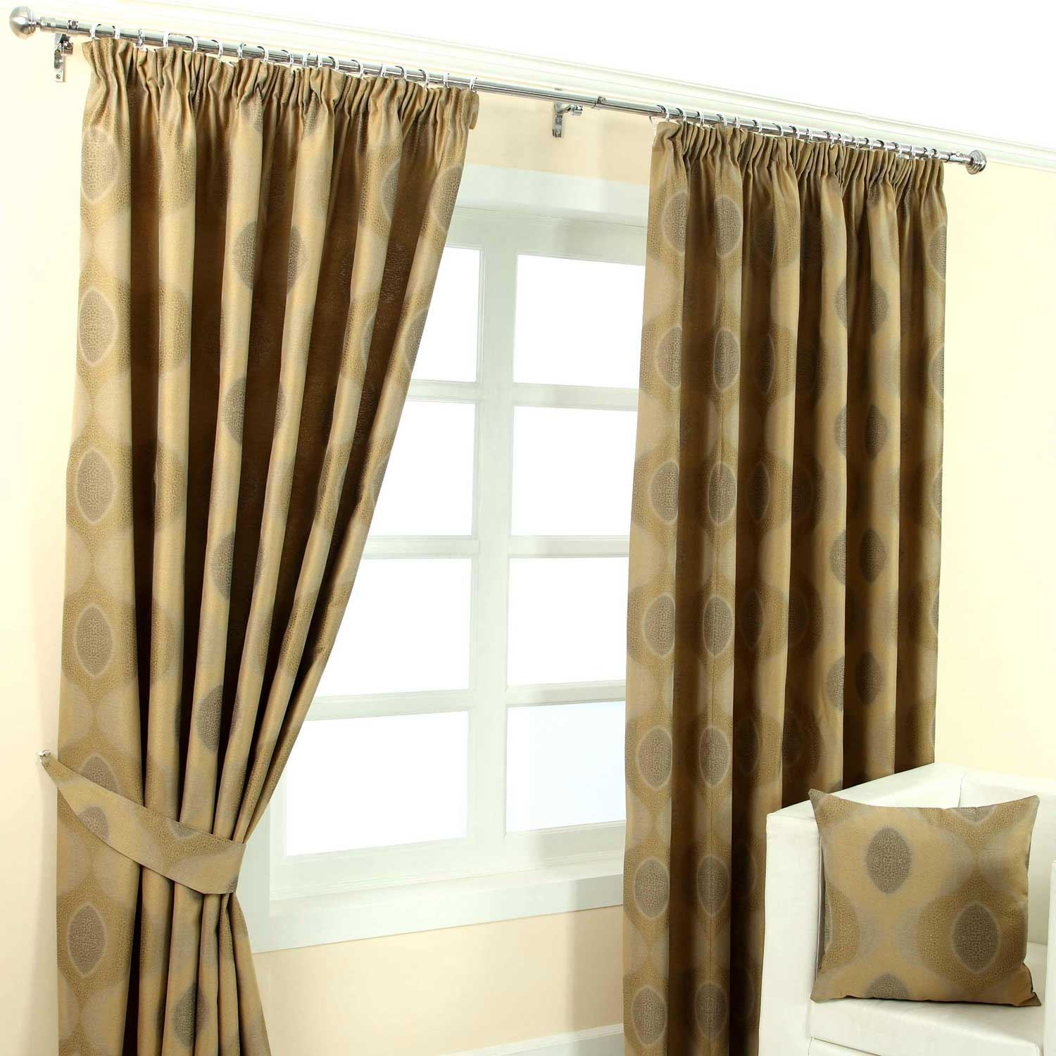 pencil pleat fully lined ready made jacquard curtains blue. Black Bedroom Furniture Sets. Home Design Ideas