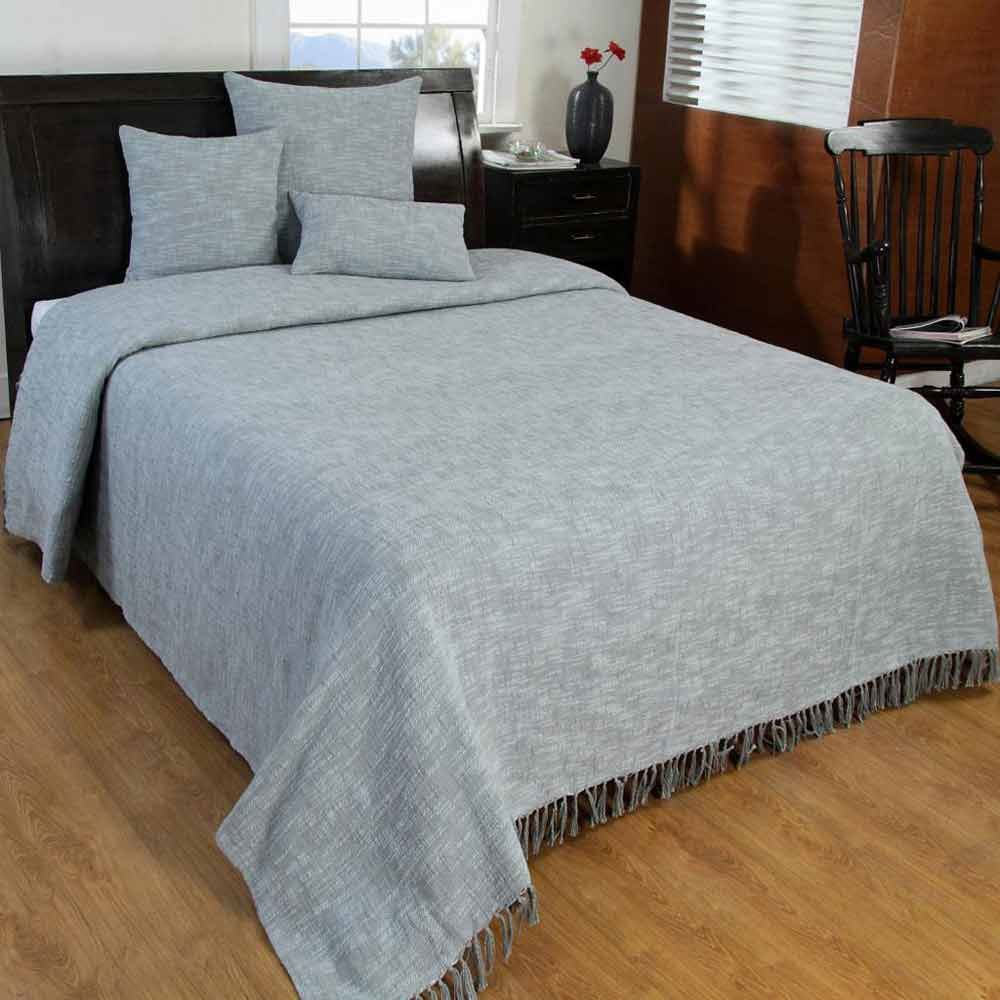 Homescapes Hand Woven 100% Pure Cotton Throws For Bed Or