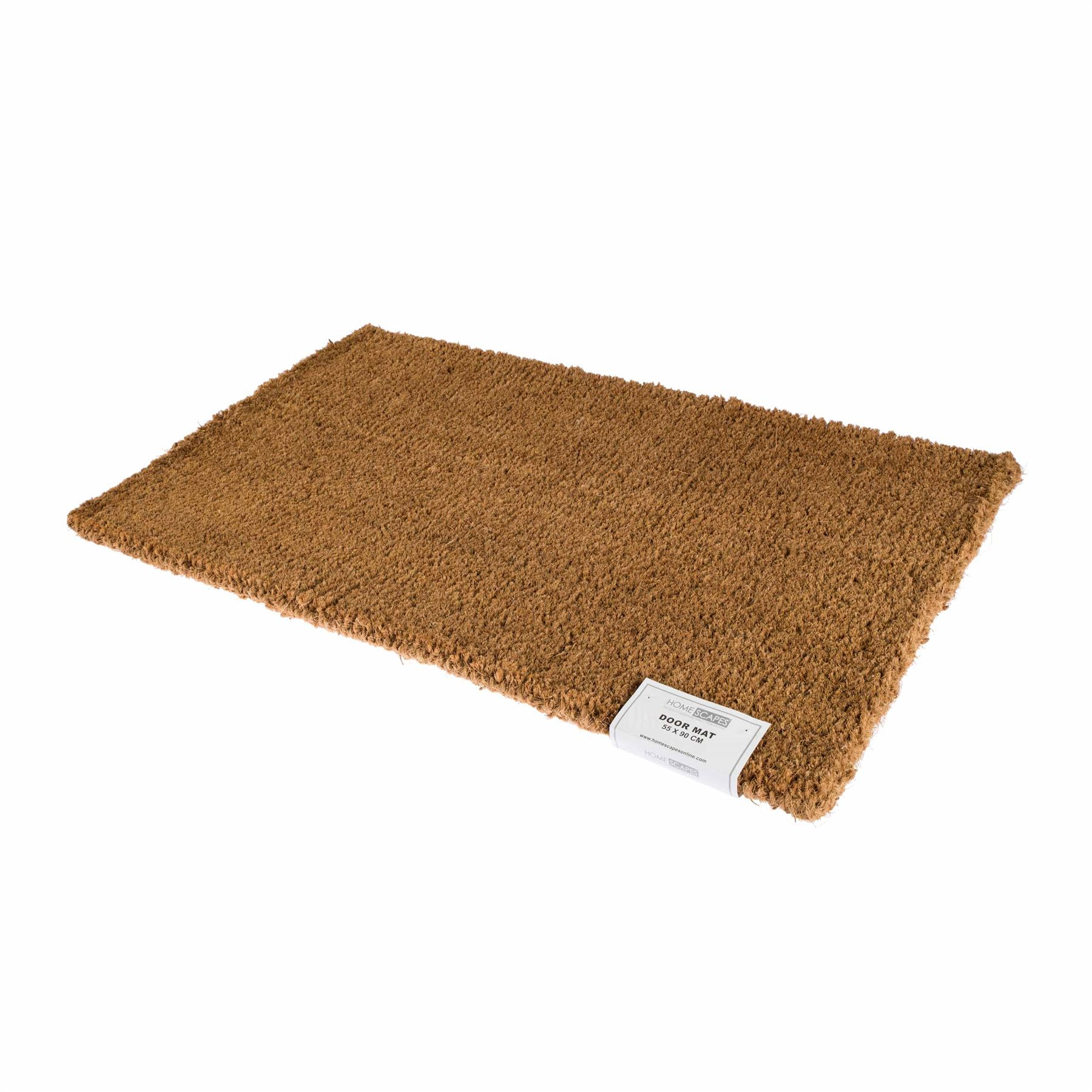 Coir rubber door mat indoor outdoor use large wrought iron for Door mats amazon