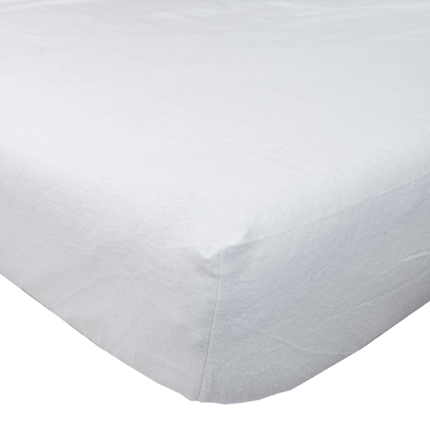 flannelette 100 brushed cotton fitted sheet single. Black Bedroom Furniture Sets. Home Design Ideas