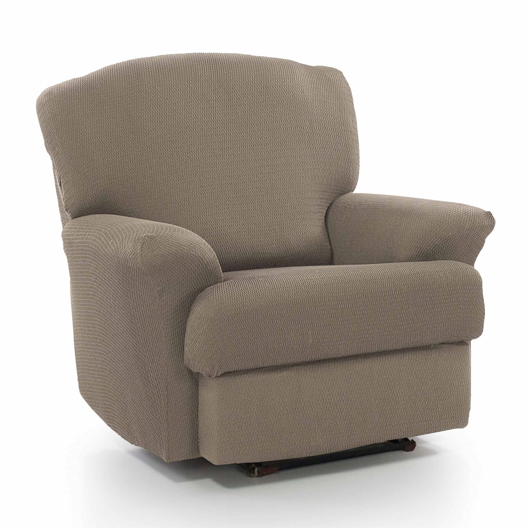 1 Seater Recliner Armchair Slipcover Stretch Elastic Sofa ...