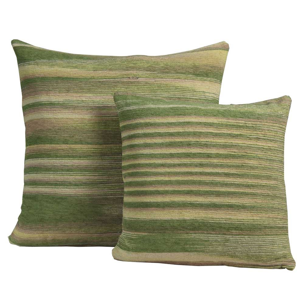 Dying Sofa Covers: Chenille Tie Dye Cushion Covers 100% Cotton For Home Decor