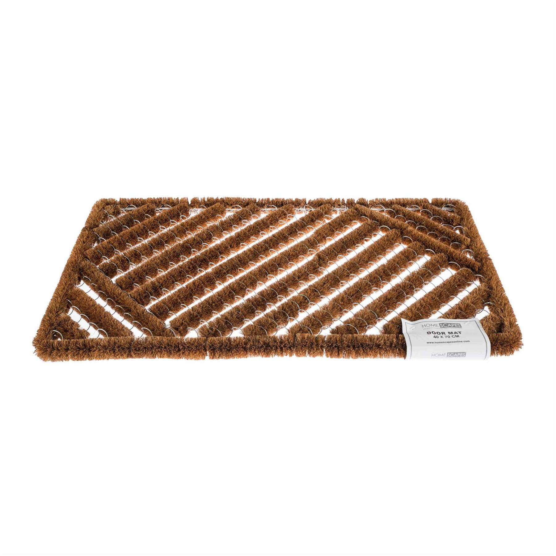 Coir Rubber Door Mat Indoor Outdoor Use Large Wrought Iron