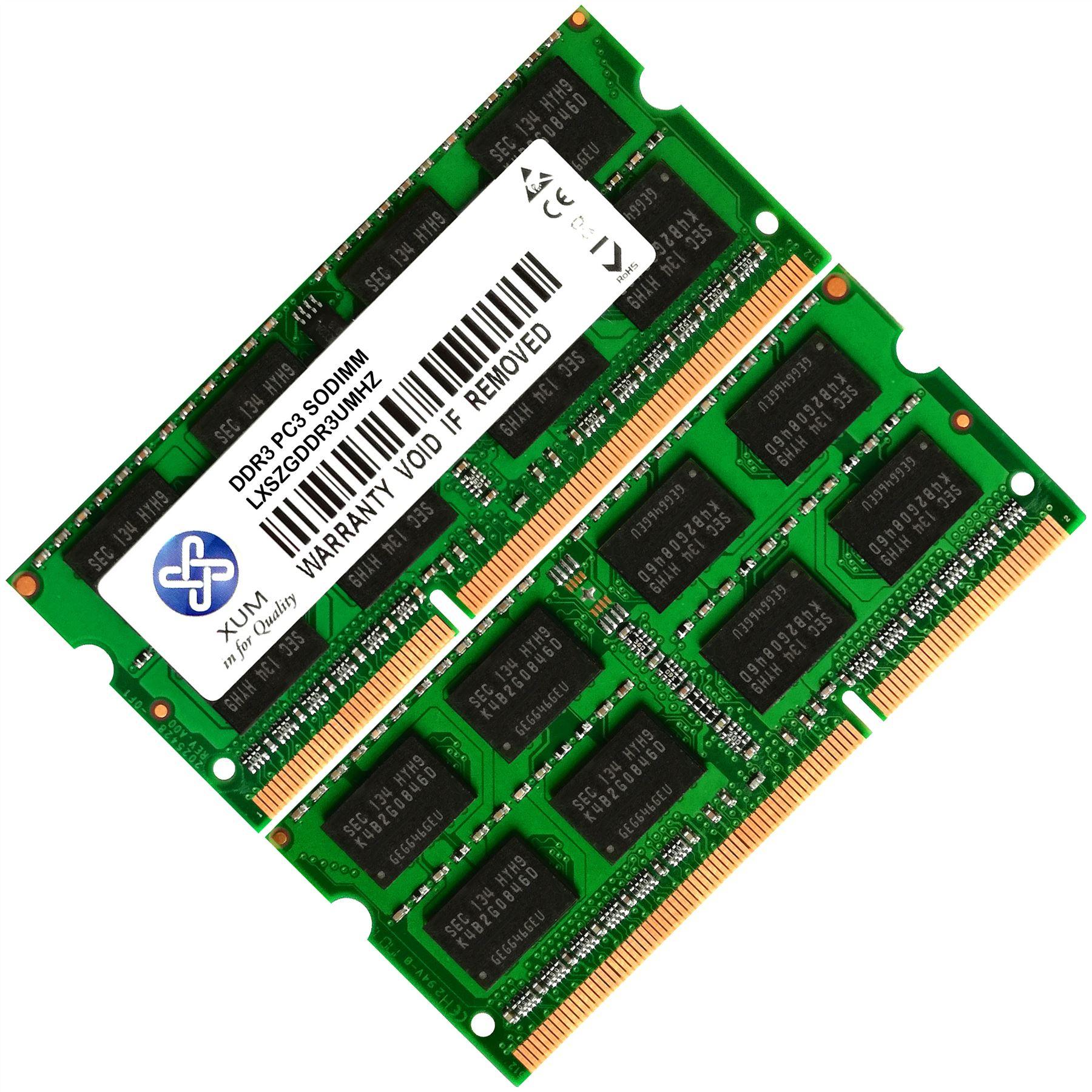 Memoria-Ram-4-Hp-Envy-Notebook-Laptop-6-1019tx-Ultrabook-6-1020eb-Nuevo-2x-Lot