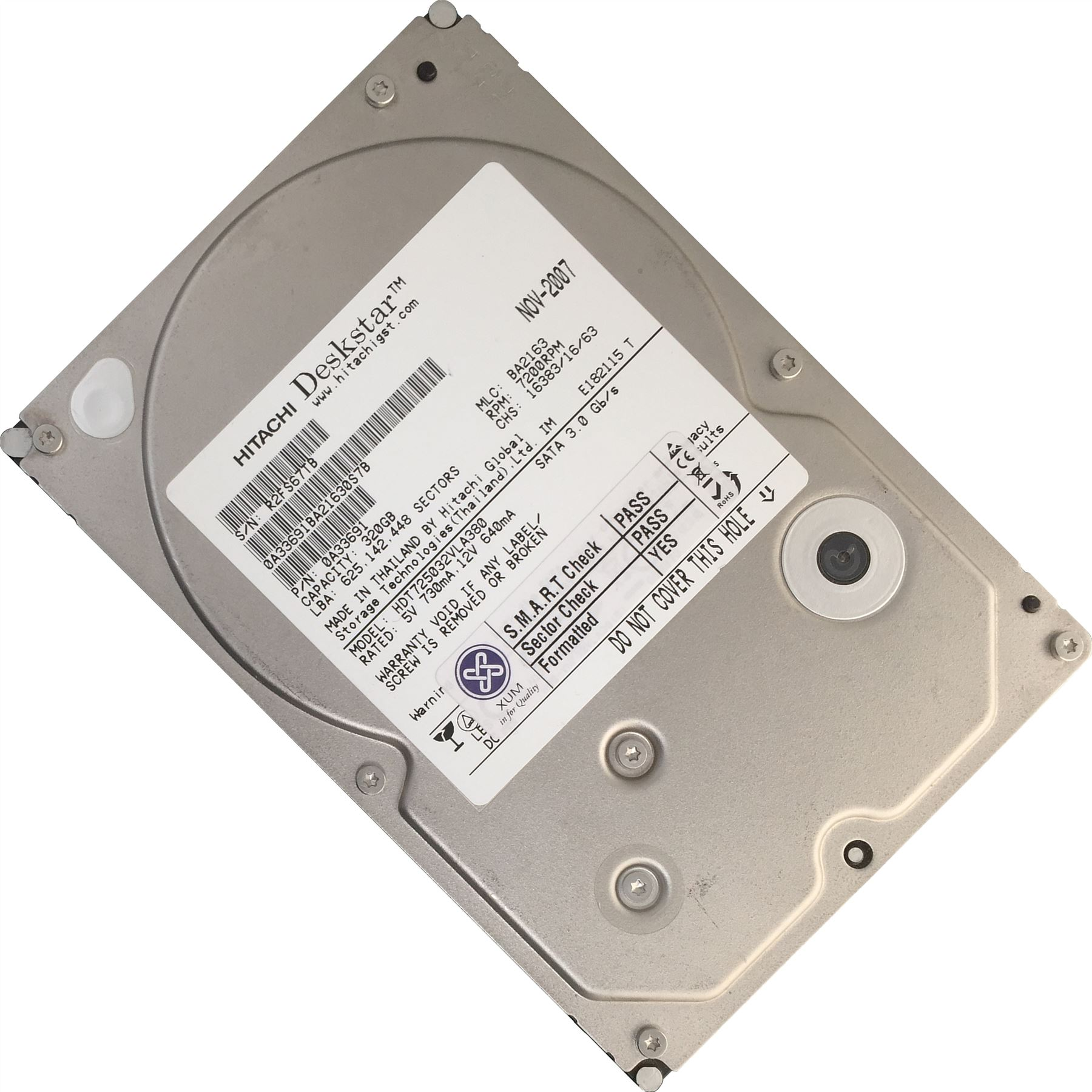 320GB-3-5-034-POLLICI-SATA-hard-drive-interno-desktop-HDD-PC-CCTV-DVR-disco-lotto