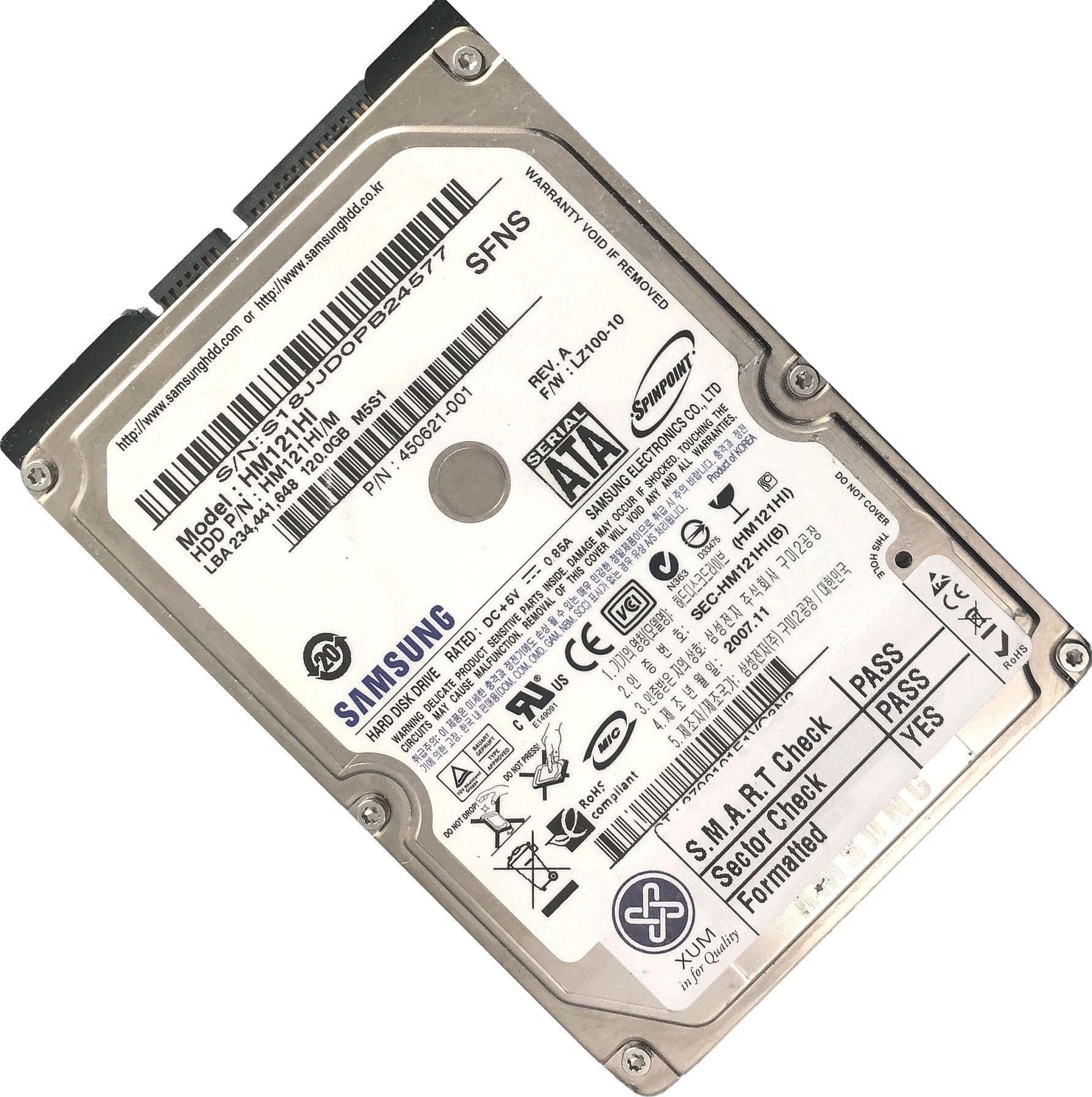 120GB-160GB-250GB-320GB-500GB-750GB-1TB-2TB-2-5-034-SATA-Hard-Drive-HDD-Laptop-LOT miniatuur 6