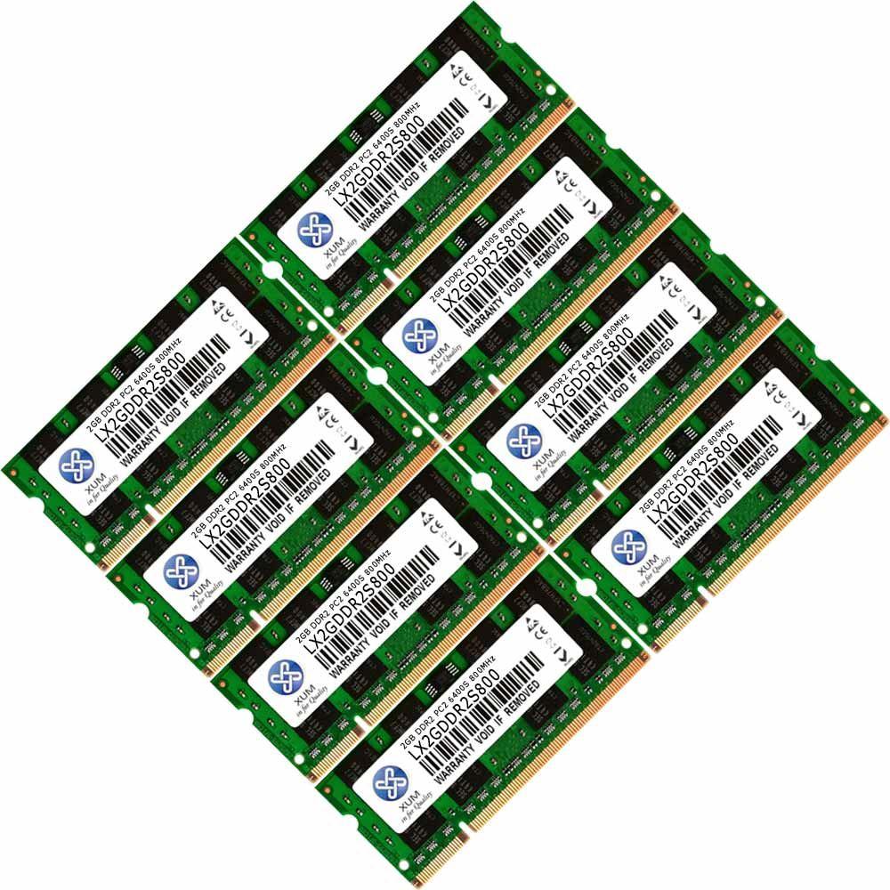 Memory Ram 4 Laptop Ddr2 Pc2 6400s 800mhz 200pin Sodimm Non Ecc New 2gb