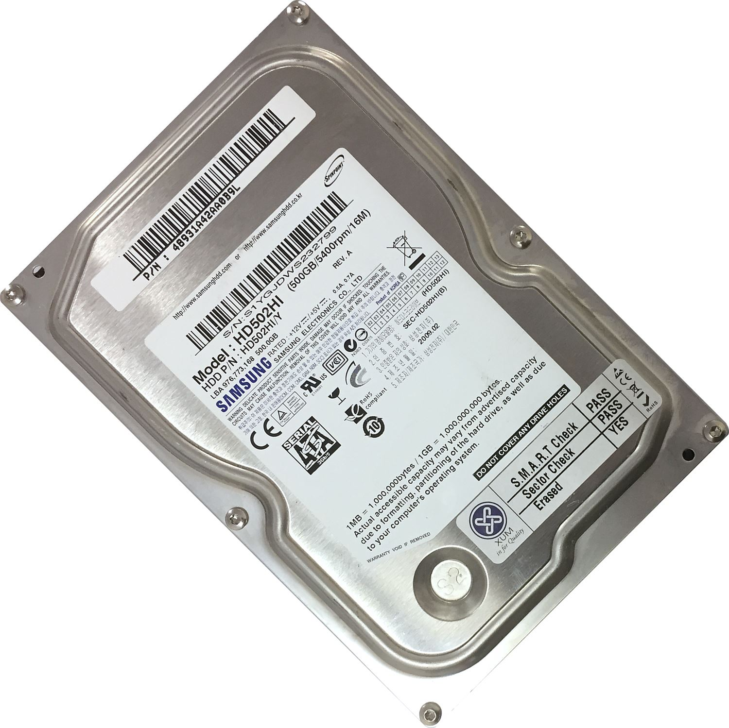 500GB-3-5-034-SATA-Hard-Drive-Internal-HDD-DESKTOP-COMPUTER-PC-CCTV-DVR-DISK-LOT miniatuur 6
