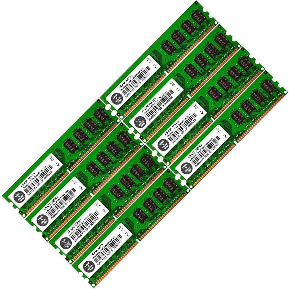 Memoria-Ram-4-PC-de-escritorio-DDR2-667-PC2-5300U-240-DIMM-sin-ECC-sin-bufer-2x-GB-Lote