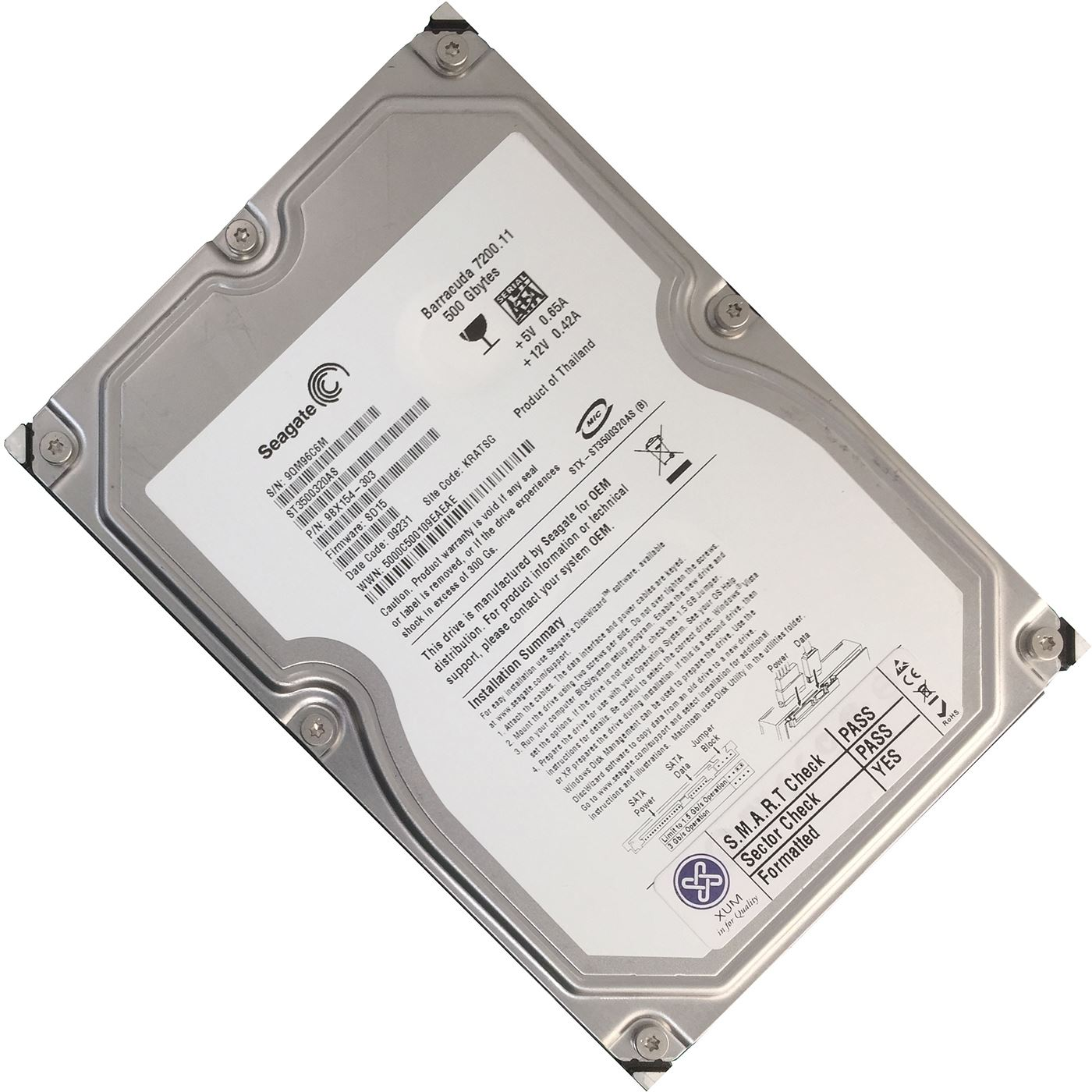500GB-3-5-034-disco-fisso-SATA-HDD-INTERNO-PC-COMPUTER-DESKTOP-CCTV-DVR-disco-lotto