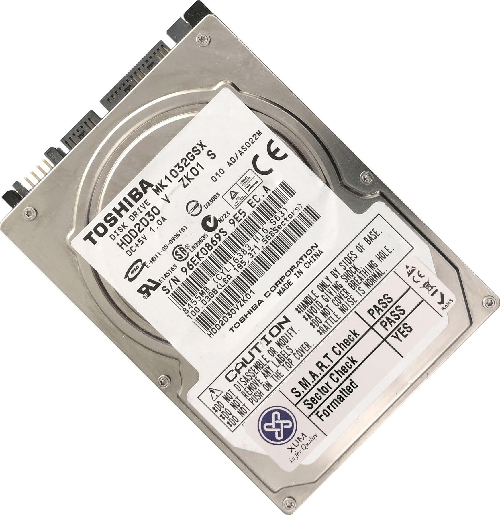 120GB-160GB-250GB-320GB-500GB-750GB-1TB-2TB-2-5-034-SATA-Hard-Drive-HDD-Laptop-LOT miniatuur 4