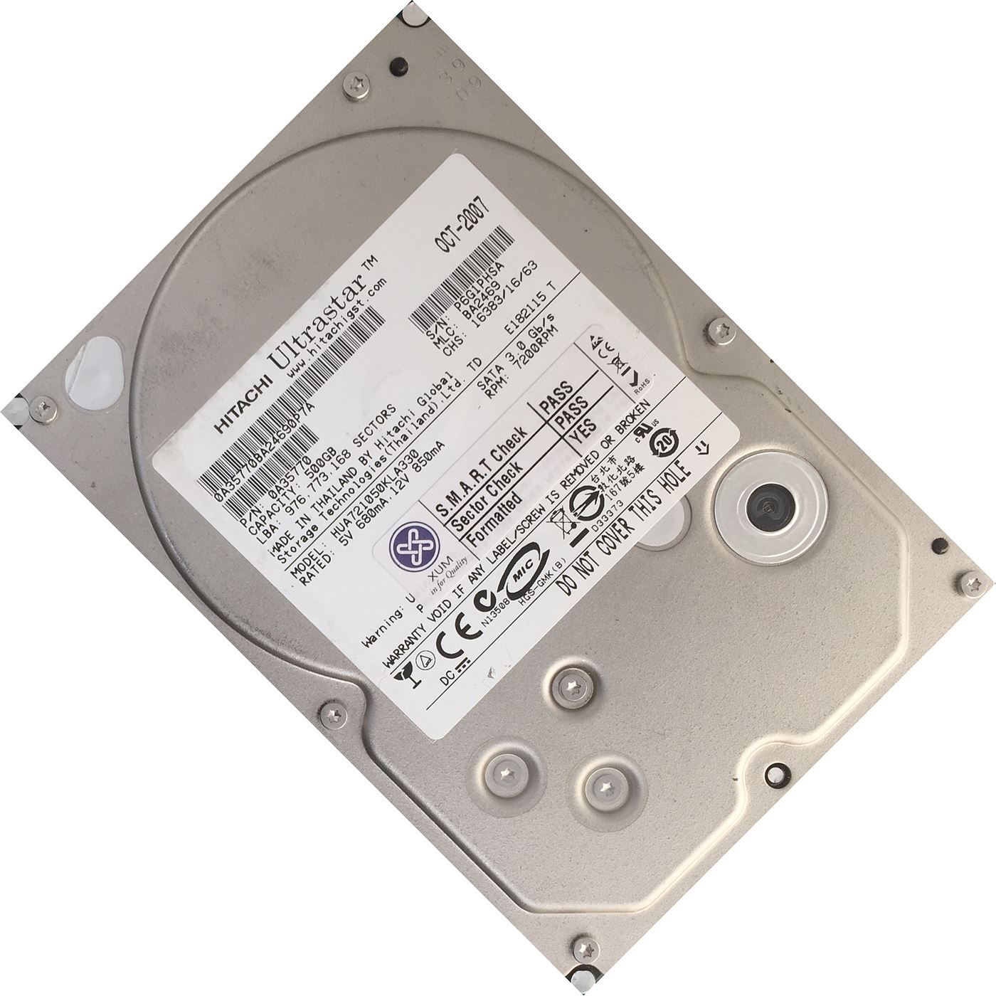 500GB-3-5-034-SATA-Hard-Drive-Internal-HDD-DESKTOP-COMPUTER-PC-CCTV-DVR-DISK-LOT miniatuur 3