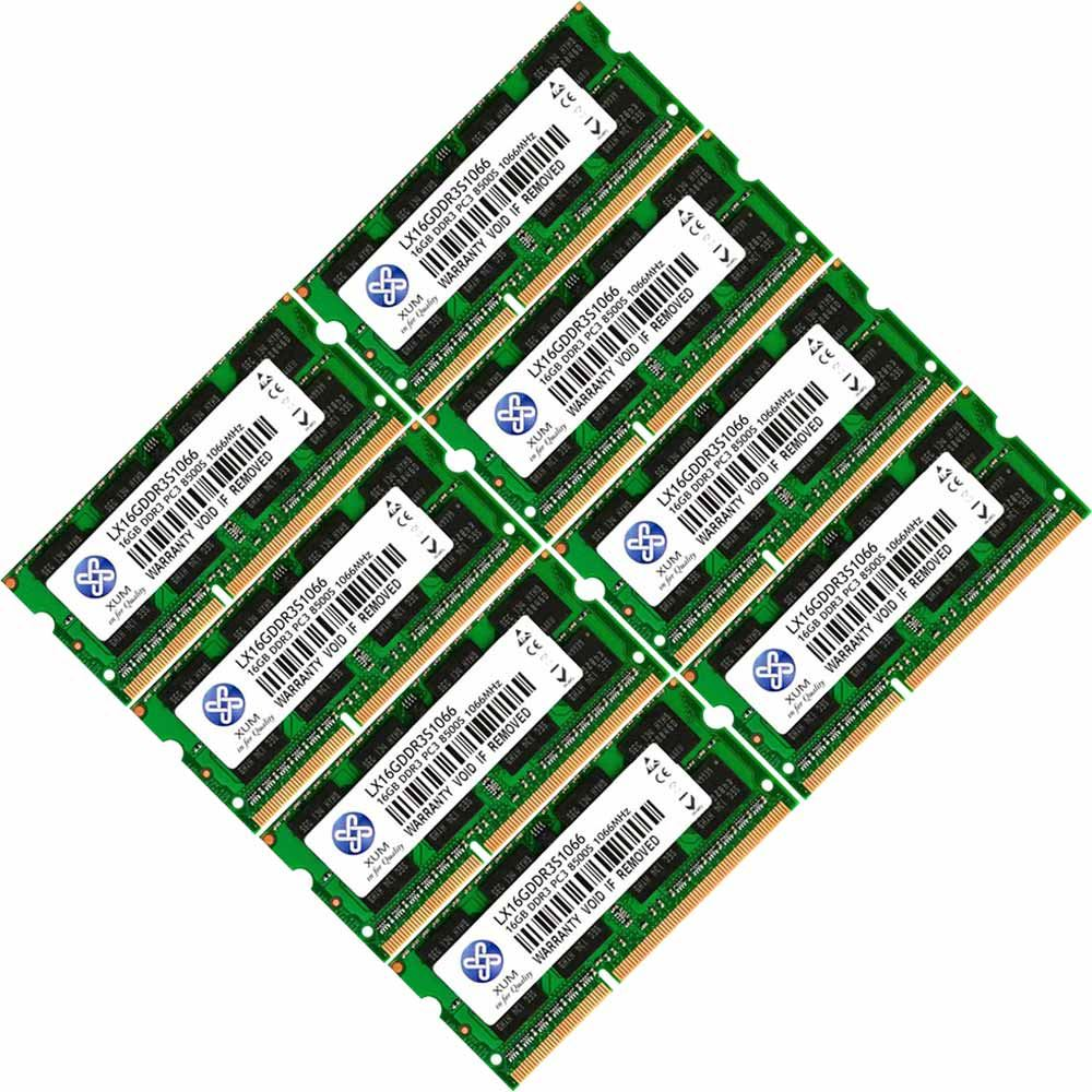 Memory-Ram-4-Laptop-DDR3-PC3-8500s-1066-204-pin-SODIMM-New-GB-Non-ECC-1-2-4x-Lot