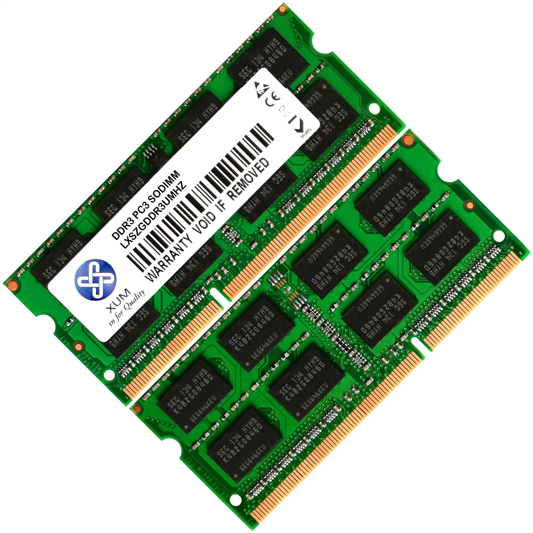 Memoria-Ram-4-Toshiba-Qosmio-Laptop-F60-124-F60-125-F60-126-F60-127-2x-Lot
