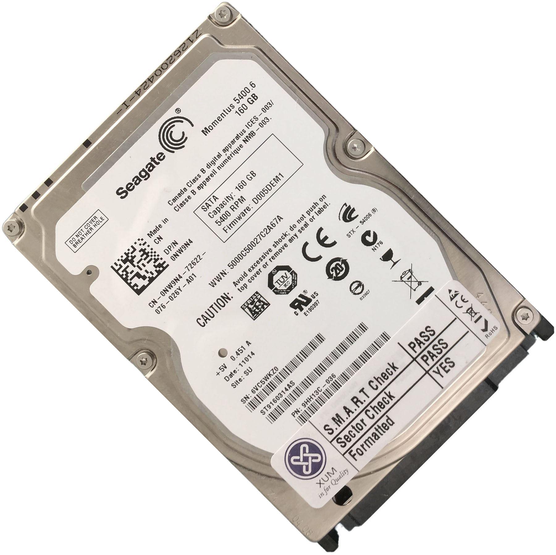 120GB-160GB-250GB-320GB-500GB-750GB-1TB-2TB-2-5-034-SATA-Hard-Drive-HDD-Laptop-LOT miniatuur 8