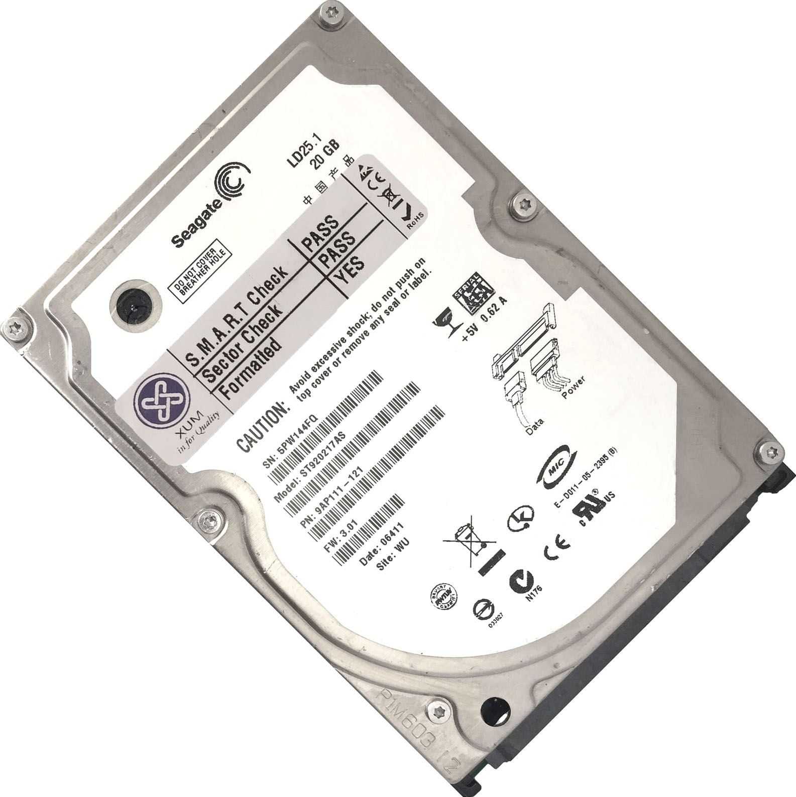 Sata I 25 Internal Hard Disk Drives Ebay Hardisk Notebook Toshiba 1tb Inch 5400rpm 15gb S 2mb Cache Drive Hdd Laptop