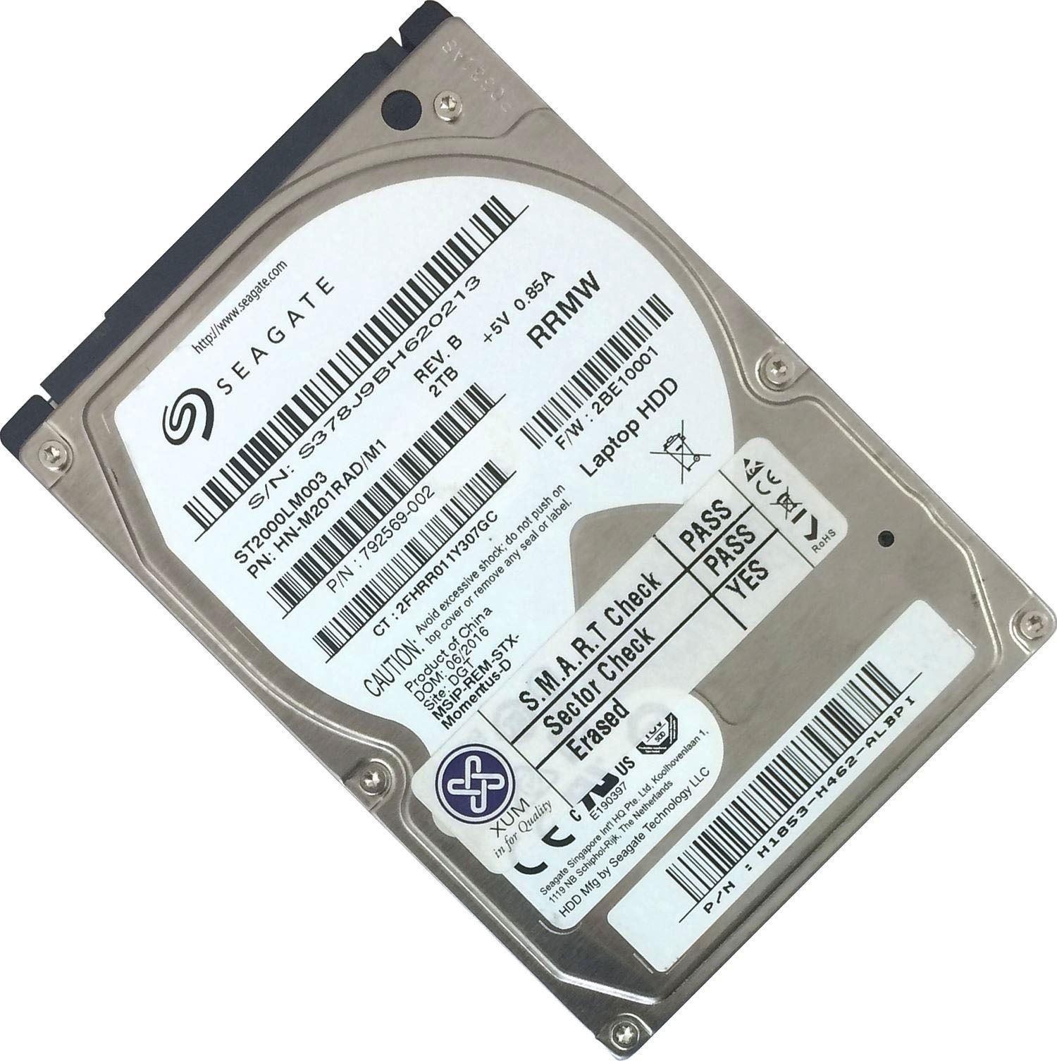 120GB-160GB-250GB-320GB-500GB-750GB-1TB-2TB-2-5-034-SATA-Hard-Drive-HDD-Laptop-LOT miniatuur 22