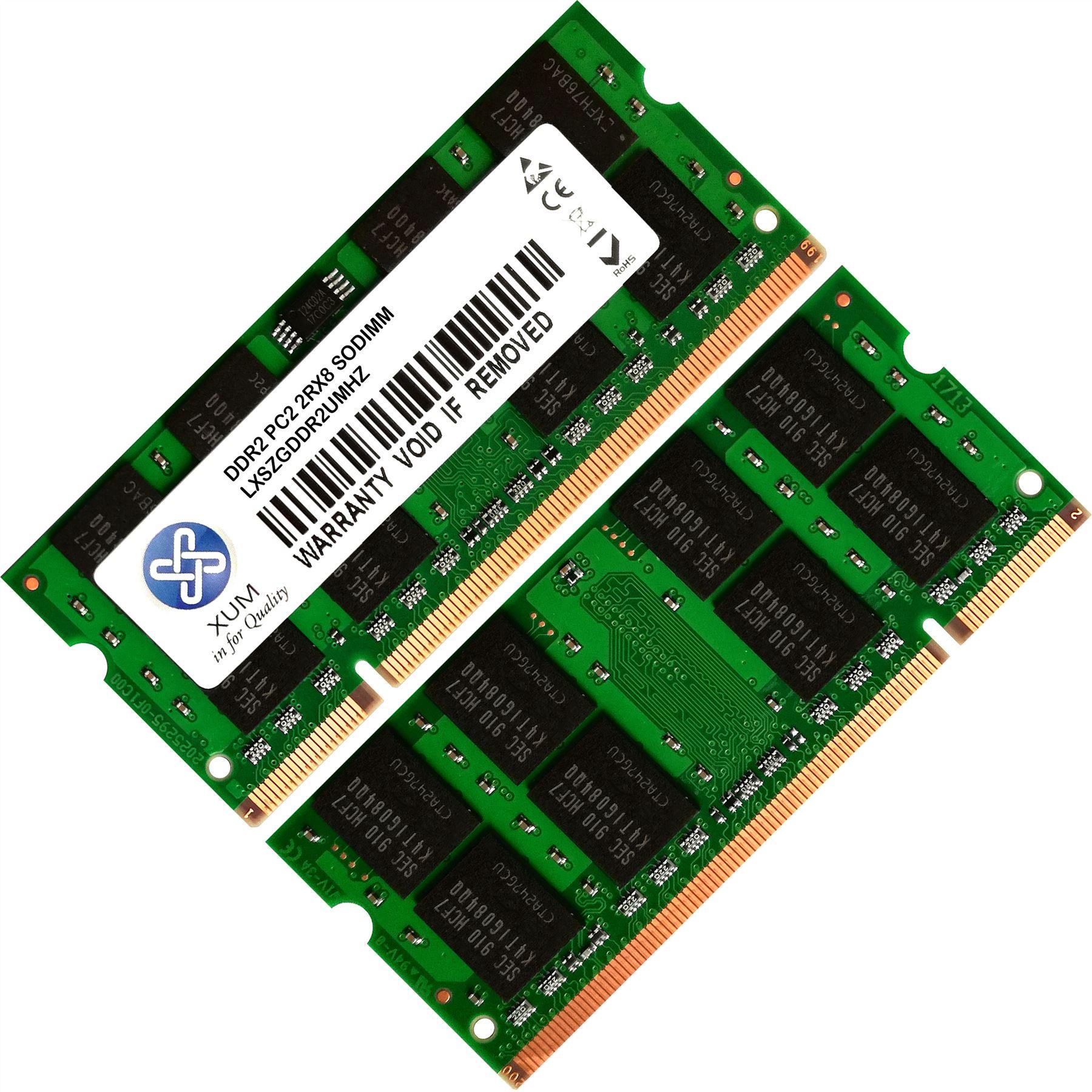Memoria-Ram-4-Toshiba-Qosmio-Laptop-F30-176-F30-P540-F30-P540T-G30-102-2x-Lot