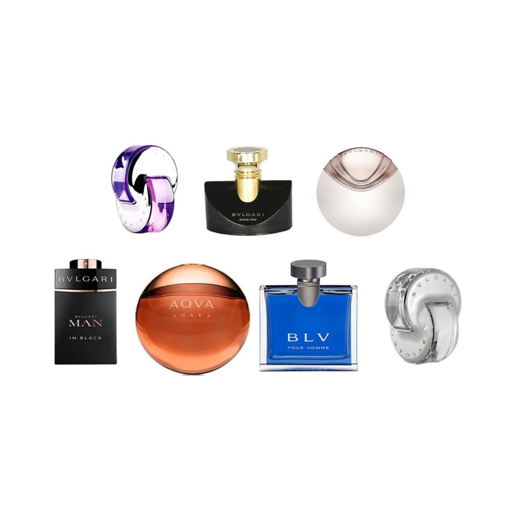 Bvlgari The Iconic Miniature Perfume Collection Gift Set, Unisex Fragrance,  NEW 2dfaa24bc67