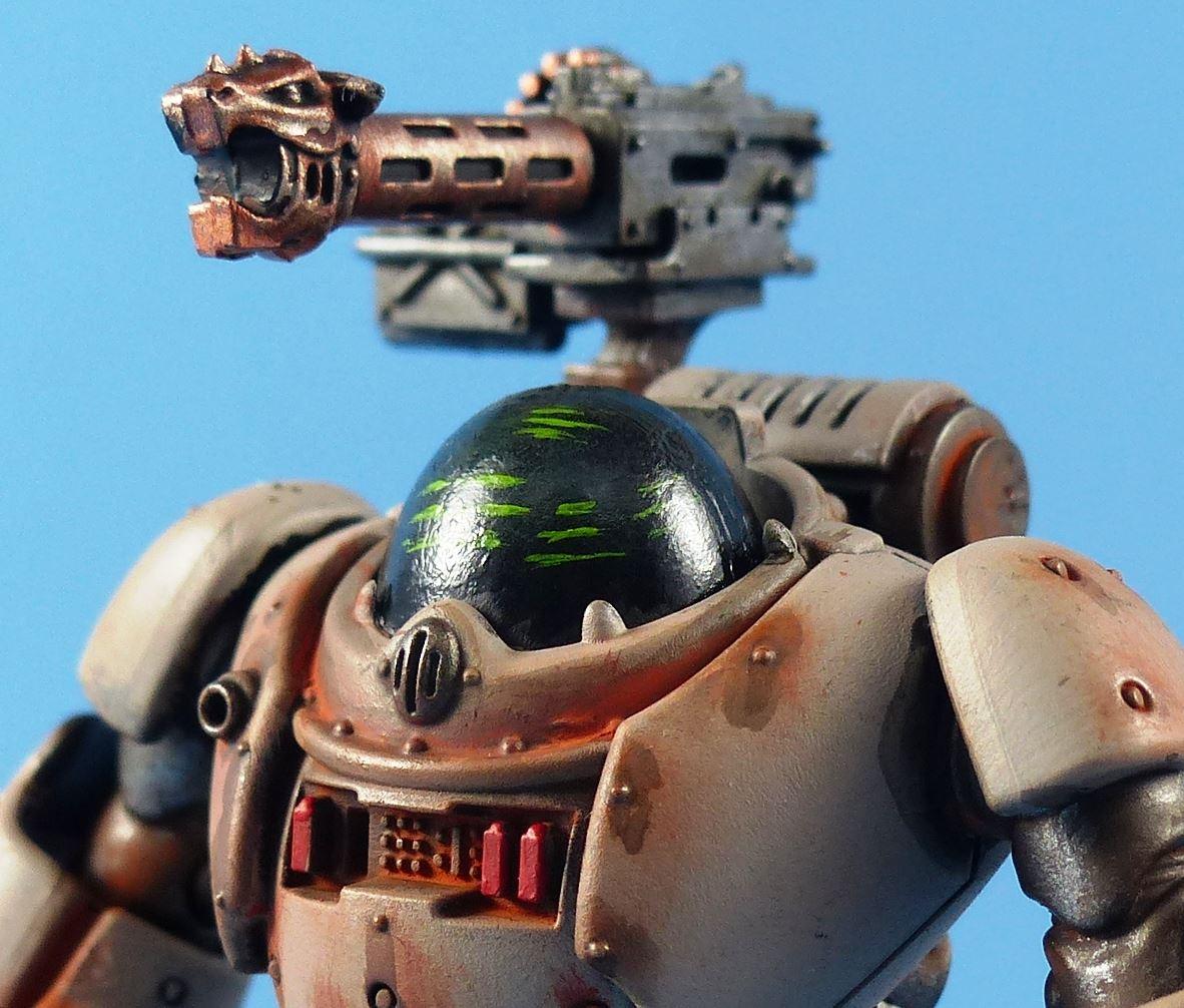 Kastellan-Robots-Painted-Adeptus-Dark-Mechanicus-Warhammer-40k-4B86 thumbnail 4