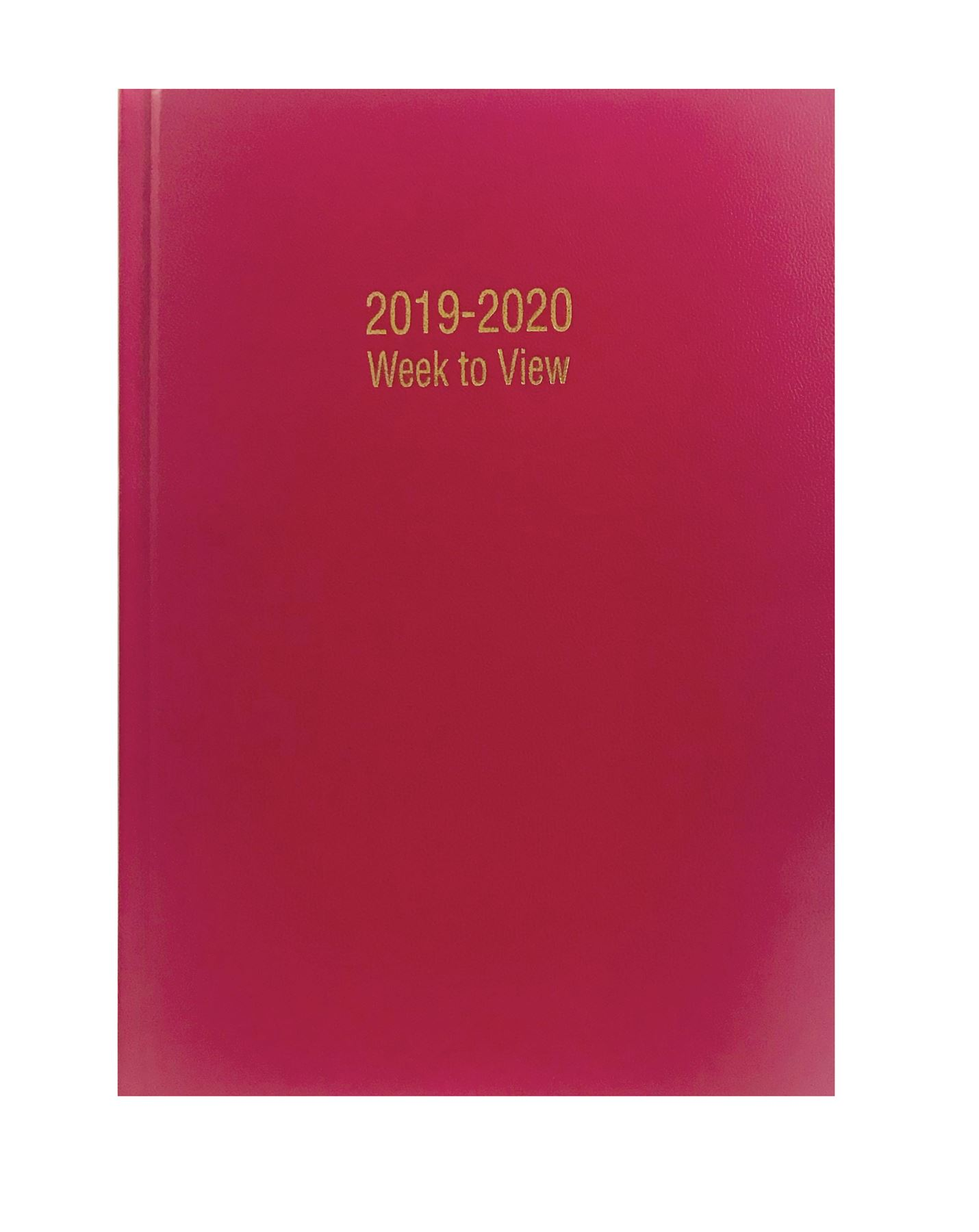 2019-2020 Academic Mid Year Hardback Diary A4//A5 Size Week to View//Day A Page