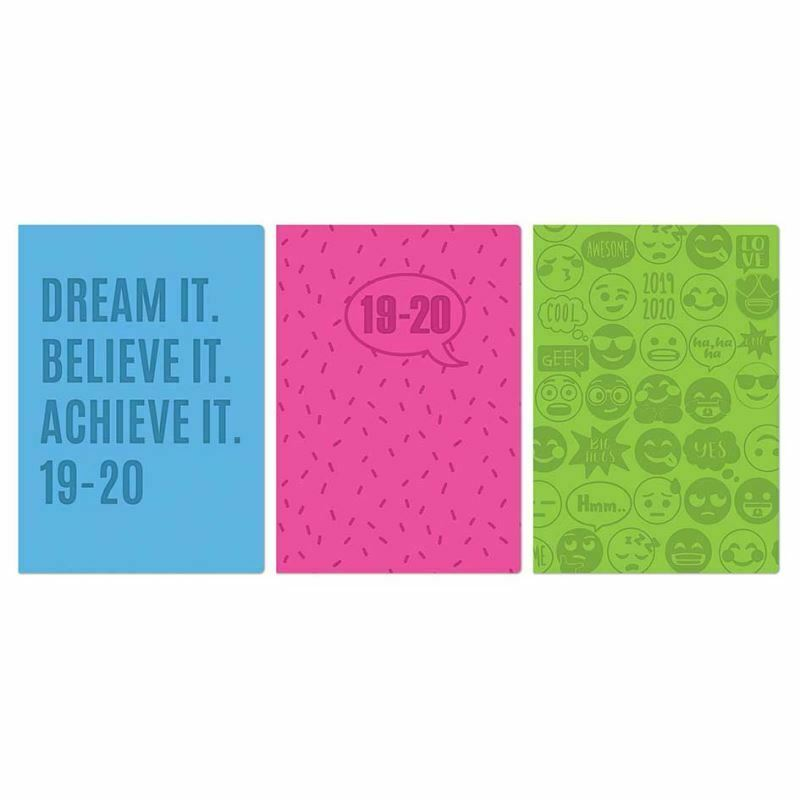 Modern 2019 2020 Mid Year Diary: 2020 A5 Academic Mid Year Page A Day / WTV Student