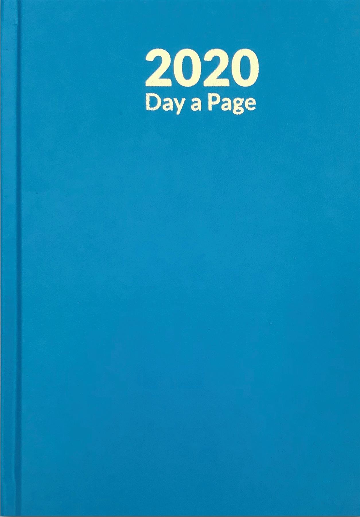 Pagina-de-A4-A5-2020-un-dia-semana-para-ver-diario-diario-de-cubierta-dura-Blancas miniatura 19