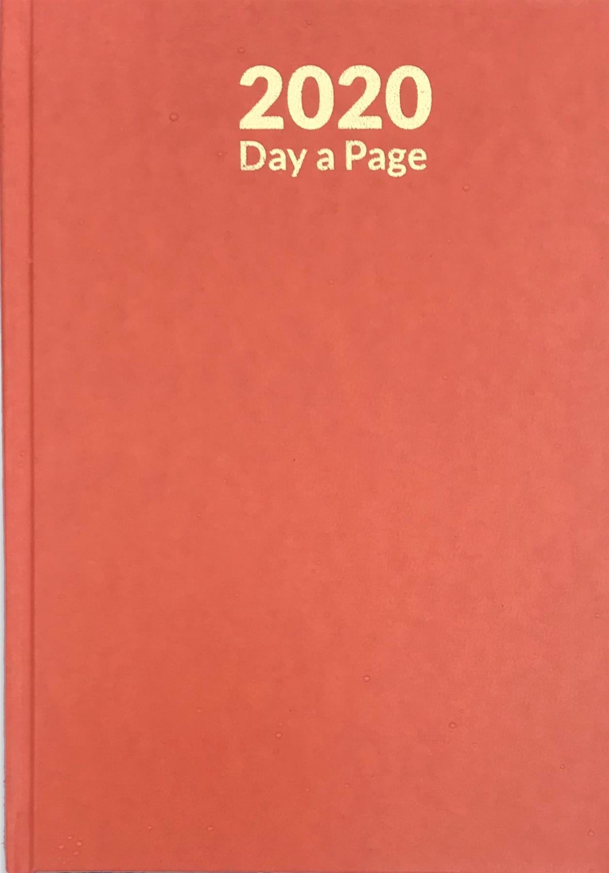 Pagina-de-A4-A5-2020-un-dia-semana-para-ver-diario-diario-de-cubierta-dura-Blancas miniatura 15