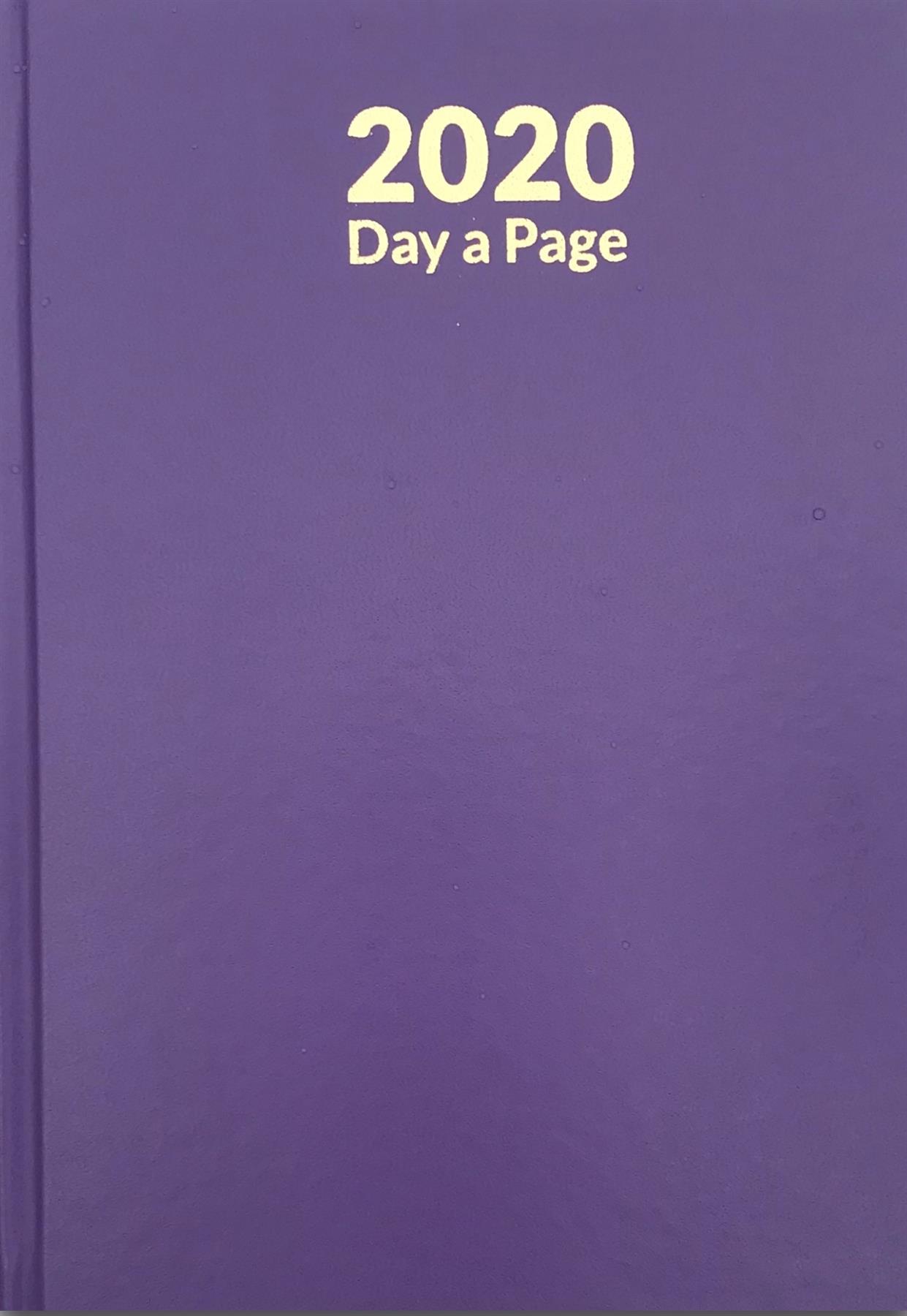 Pagina-de-A4-A5-2020-un-dia-semana-para-ver-diario-diario-de-cubierta-dura-Blancas miniatura 17