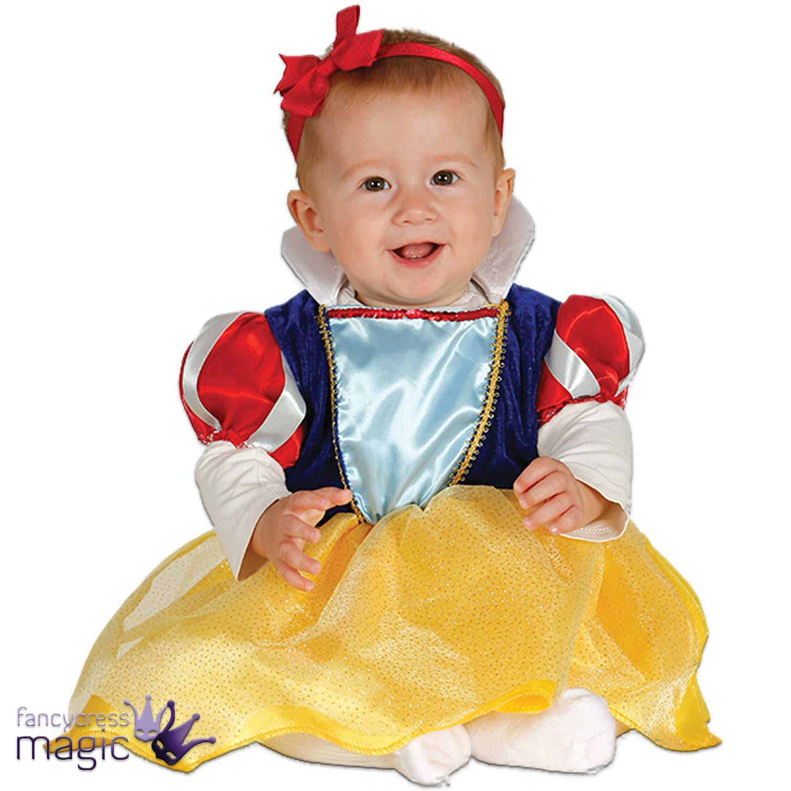 a21ae24ab *Baby Girls Princess Fairy Tale Snow White Halloween Fancy Dress Costume  Outfit*